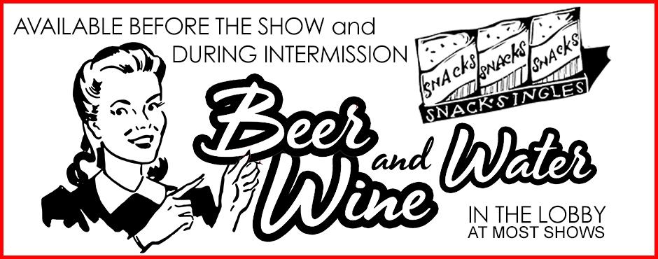 Beer Wine Water banner 2019